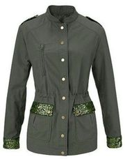 Trendy Military Jacke