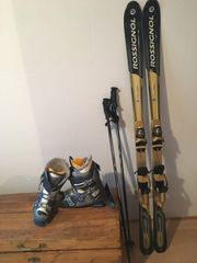 Skiausrüstung alpin
