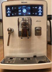 Saeco Xelsis Kaffeevollautomat edelstahl weiß
