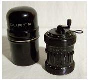 CURTA Type II Rechenmaschine von