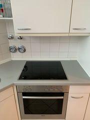 Küche weiß inkl Geräte