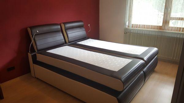 Boxspringbett inkl. Bettbeleuchtung in Eschelbronn - Betten kaufen ...