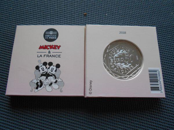 50 Euro Silber Münze Frankreich 2018 Micky La France In Neu Ulm