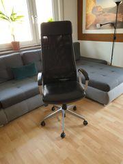 Schreibtischstuhl Drehstuhl MARKUS IKEA -schwarz-