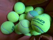 20 gebrauchte Tennisbälle,