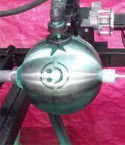 3D Plasmaschneidanlage 3D-Ball-Cut VA-Kugeln Deko-Kugel