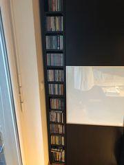 CD-Regal mit über 120 CD
