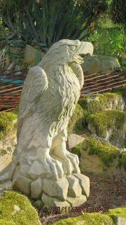 Steinadler Sandstein Skulptur