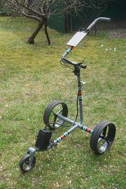 JuCad Golf Racing Elektro-Caddy Carbon