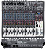Behringer Mischpult Mixer 2222FX USB