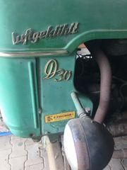 Oldtimer Traktor Deutz