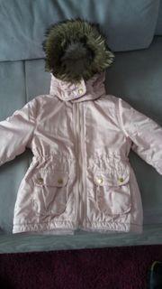 Jacke für den Winter rosa
