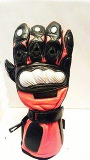 Leder Motorrad Handschuhe,