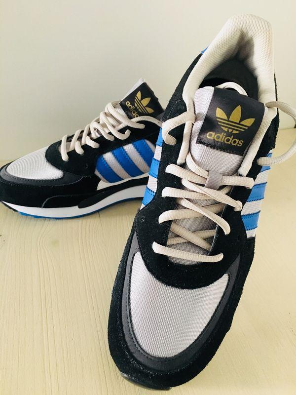 40 Sneaker Us 5 Turnschuhe 7 850 Neu Adidas Schwarz Uk 5 Zx Blau 7 zqBzp0