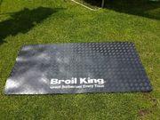 Broil King Bodenschutzmatte schwarz 1800x900mm