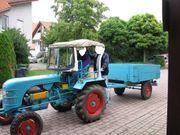 Oldtimer Traktor Kramer KL200 Bj