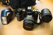 Analoge Kamera Minolta Dynax 7000i