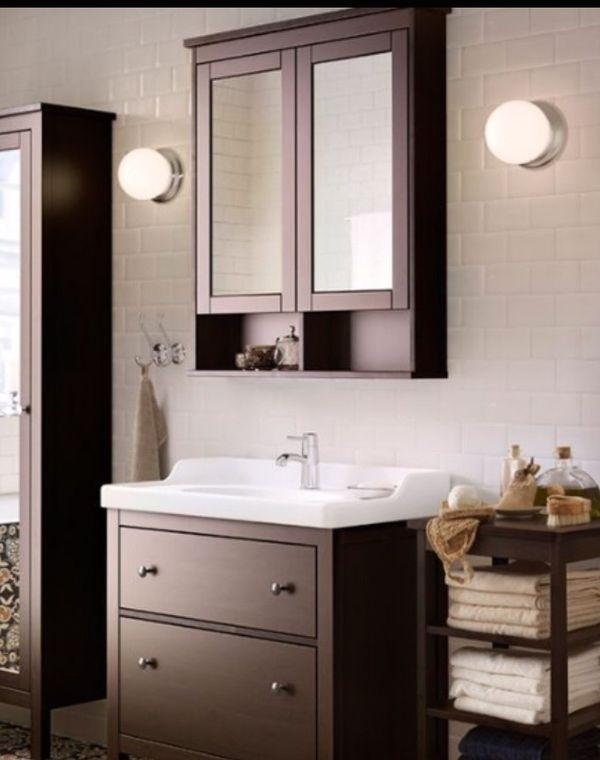 hemnes grau braun gebraucht kaufen nur 2 st bis 65 g nstiger. Black Bedroom Furniture Sets. Home Design Ideas
