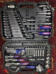 123 stück Werkzeug Set für