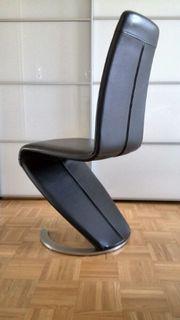 4 Design Freischwinger Esszi -Stühle
