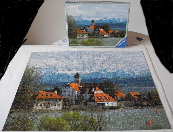 Ravensburger Puzzle 1500 Teile Die Erde komplett Puzzles