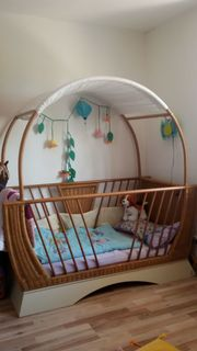 Taube Gondola Kinderbett