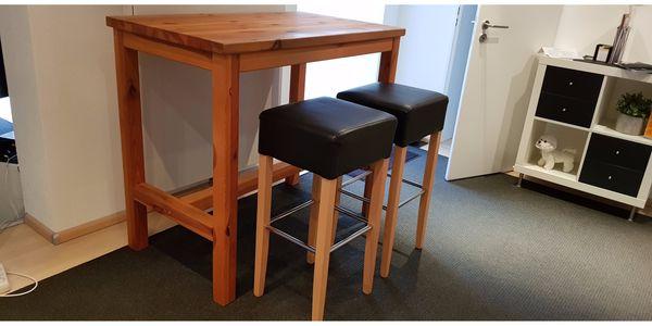 Tisch Kiefer Mit Barhocker Bartisch Hochtisch Stehtisch Küchentisch