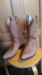 Cowboystiefel Leder