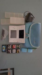 Nintendo DS mit viel Zubehör