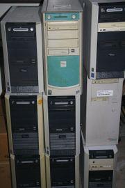 7 ältere Pentium