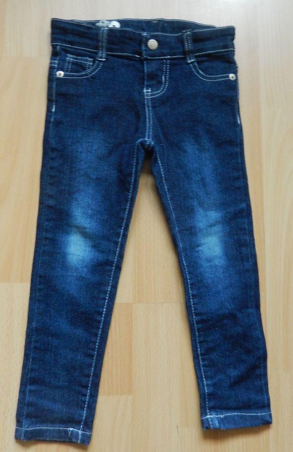 Jeans Stickerei u Strass Gr