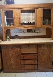Antiker Küchenschrank, 2-