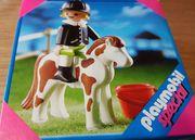 Playmobil Pferd m Reiter