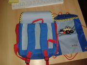 Kindergartenrucksack und Beutel