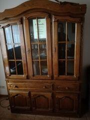 Wohnzimmer-Vitrinen-Schrank,