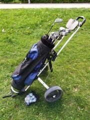 komplette Golfausrüstung mit