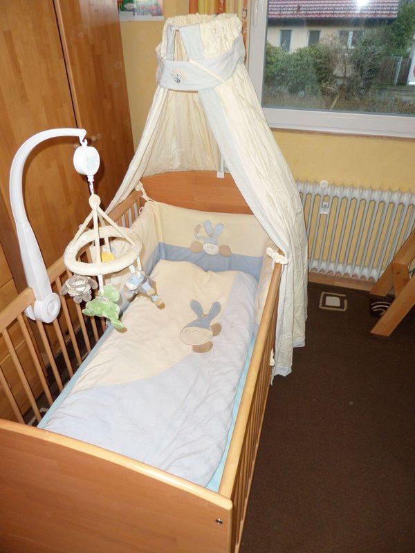 Herlag Kinderzimmer komplettset: baby-/kinderzimmer anna- buche massiv - marke herlag in