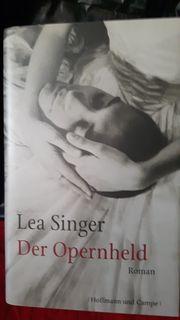 Lea Singer handsignierter Roman der