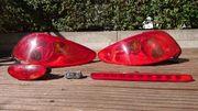 Komplettsatz Heckleuchten Peugeot 206 cc