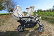 Zwillingsbuggy Geschwisterkinderwagen von Babywelt
