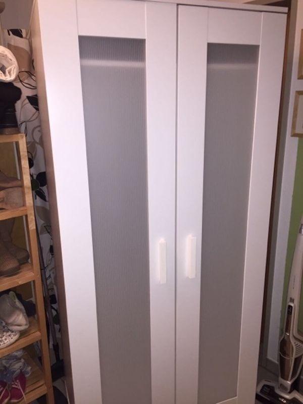 ikea kleiderschrank weiss gebraucht kaufen nur 4 st bis 60 g nstiger. Black Bedroom Furniture Sets. Home Design Ideas