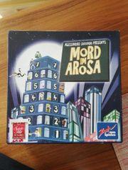 Brettspiel Mord im Arosa