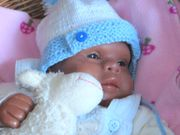 Farbiges OOAK Baby 48cm