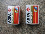 2 Stück AGFA Color - Negativfilm