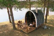 Mobiler Sauna Pod,