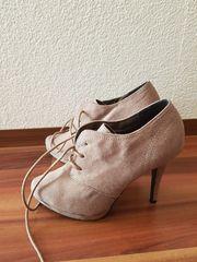 Damen Schuhe Stiefeletten mit Absatz