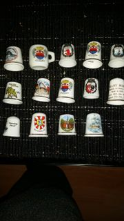 Diverse fingerhüte