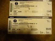 Tickets Weihnachtsoratorium Hamburg Michel I-III