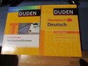 DUDEN Übungsbücher / Lernbücher