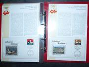 Briefmarkenalbum Schweizer Schlösser